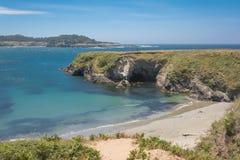 The coast of Mendocino, California. A view of the coast of Mendocino, California Royalty Free Stock Photos