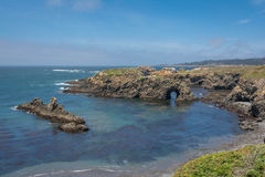 The coast of Mendocino, California Royalty Free Stock Photo