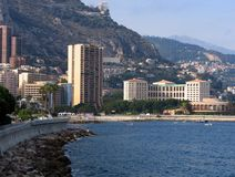 Coast Monte-Carlo Stock Images