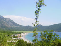 Coast of Montenegro Royalty Free Stock Images