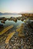 Coast of Montenegro Stock Photos
