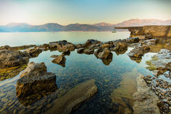 Coast of Montenegro Royalty Free Stock Photos