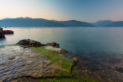 Coast of Montenegro Royalty Free Stock Photos