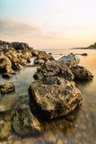 Coast of Montenegro Royalty Free Stock Photography