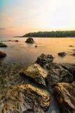 Coast of Montenegro Stock Photography