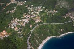 Coast of Montenegro Stock Images