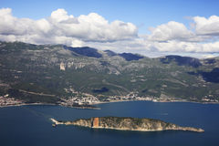 Coast of Montenegro Royalty Free Stock Photo