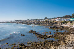 The coast of Monterey, California. A view of the coast of Monterey in California Stock Photography