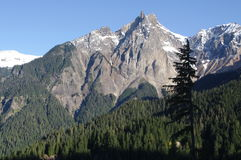 Coast mountains of British Columbia Stock Photo