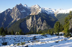 Coast mountains of British Columbia Stock Image