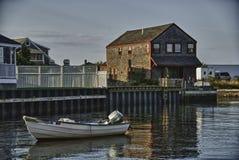 Coast of Nantucket in Massachusetts stock photo