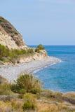 Coast of Nea Anatoli Royalty Free Stock Image