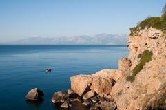 Coast near Antalya (Turkey) Royalty Free Stock Photos