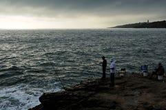 The coast near Boca do Inferno, Cascais, Portugal Stock Photos