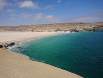 Coast near of Caldera, Chile stock image