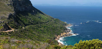 Coast near Cape Town Stock Image