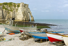 Coast near etretat, france Royalty Free Stock Images