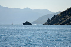 Coast near Kemer, Turkey Royalty Free Stock Photography