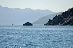 Coast near Kemer, Turkey Royalty Free Stock Photography