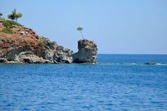 Coast near Kemer, Turkey Royalty Free Stock Image
