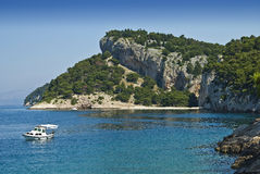 Coast near by Makarska Stock Image