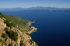 Coast near by Makarska Royalty Free Stock Photo