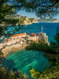 Coast near Petrovac Royalty Free Stock Photo
