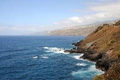 Coast near Puerto de la Cruz. Tenerife, Spain Royalty Free Stock Photography