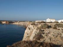 Coast near Sagres Point Stock Image
