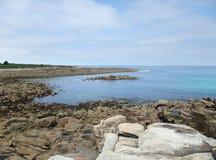 Coast near Seven Islands Stock Photos