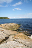 The coast near Tadoussac Royalty Free Stock Image