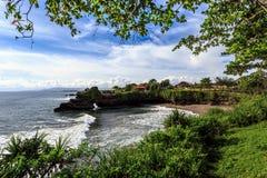 Coast near Tanah Lot, Bali. Indonesia Royalty Free Stock Photography