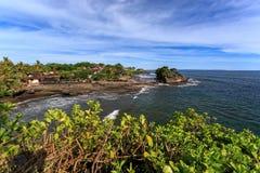 Coast near Tanah Lot, Bali. Indonesia Stock Photos