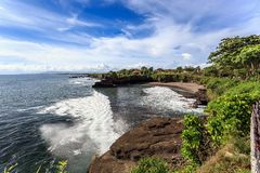Coast near Tanah Lot, Bali. Indonesia Royalty Free Stock Photo