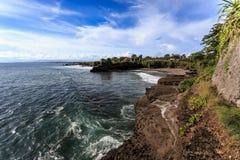 Coast near Tanah Lot, Bali. Indonesia Stock Photography