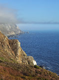 Coast near to San Francisco and a morning fog Royalty Free Stock Image