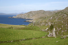 Coast near Urhan Village, Beara Peninsula; Cork Royalty Free Stock Image