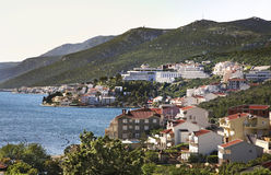 Coast in Neum. Bosnia and Herzegovina Stock Image