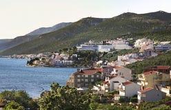 Coast in Neum. Bosnia and Herzegovina.  Stock Image