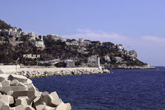 Coast of France, Nice Royalty Free Stock Photography