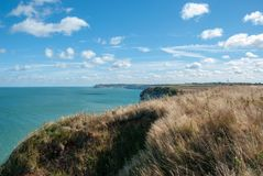 Coast of Normandy royalty free stock image