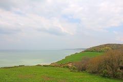 Coast of Normandy Stock Photos