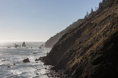 Coast of Northern California Stock Images