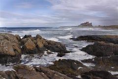 Coast of Northumberland Royalty Free Stock Photography