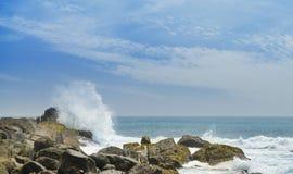 Coast ocean Stock Photo