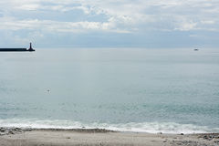 Coast and ocean in Hualien Stock Images