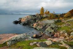 Coast Of Island Near The Helsinki Royalty Free Stock Image