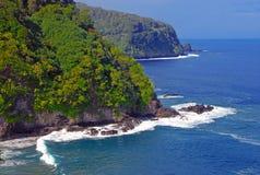 Coast off of Kauai, Hawaii Royalty Free Stock Photos