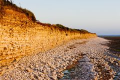 Coast of Oleron Island Royalty Free Stock Images