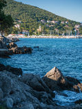 Coast, Opatija, Croatia Stock Photography